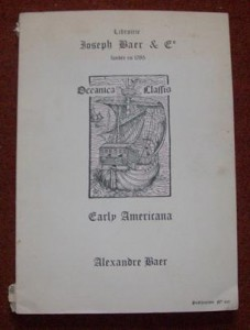 baer catalogue