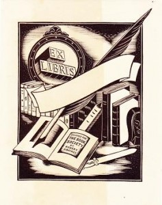 bookplate book soc